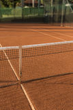 Clay (Dirt) Tennis Court. Stock Image
