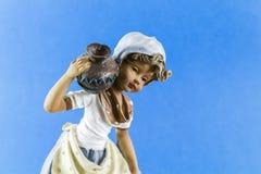 Clay Doll image libre de droits