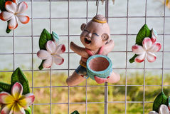 Clay Doll Arkivfoto