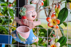 Clay Doll Royaltyfria Foton
