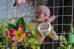 Clay doll Stock Photography