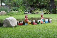 Clay doll Stock Photos