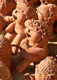 Clay Dolls Stock Images