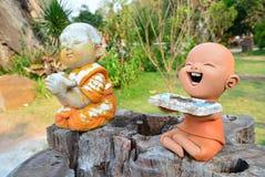 Clay Dolls stock abbildung