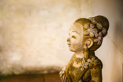 Clay dolls closeup. Stock Images