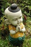 Clay Dolls. In garden thailand Royalty Free Stock Photos