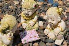 Clay Dolls stock illustration