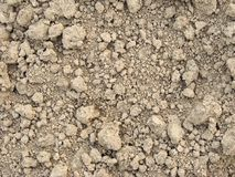 Clay dry soil Stock Images