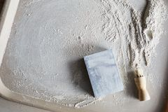 Clay Dust image stock