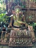 Clay Elephant Statue Chiang Mai Thailand Lizenzfreies Stockbild