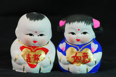 Clay figurine Stock Images