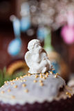 Clay figurine angel Royalty Free Stock Image