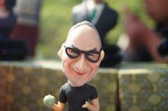 Clay figurine works Stock Photo