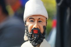 Clay figurine works Stock Photos