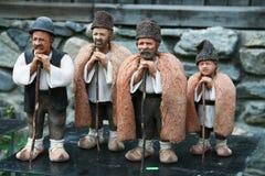 Clay Figurines Arkivbild