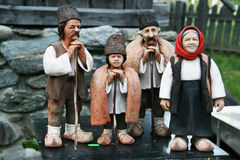 Clay Figurines lizenzfreie stockbilder