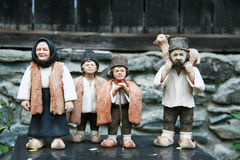 Clay Figurines lizenzfreies stockbild