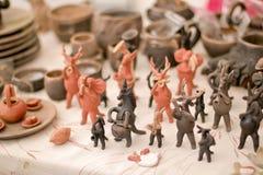Clay Figurines lizenzfreies stockfoto
