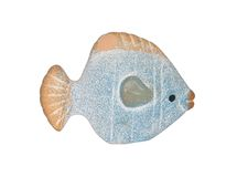 Clay fish Royalty Free Stock Photography