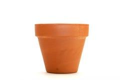 Clay flower pot Stock Photos