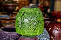 Clay Flowerpot Foto de Stock Royalty Free
