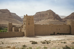 Clay fort in Morocco Royalty Free Stock Photography