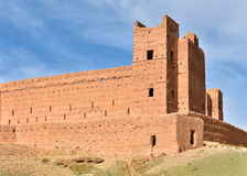 Clay fort in Morocco, Africa Royalty Free Stock Photo