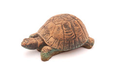 Clay Garden Tortoise Royalty Free Stock Images