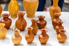 Clay handmade pots Royalty Free Stock Photography