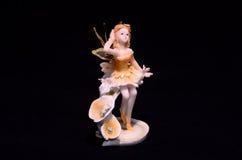 Clay Handmade Statuette d'une fée Photographie stock libre de droits