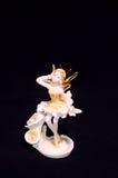 Clay Handmade Statuette of a Fairy Stock Photos