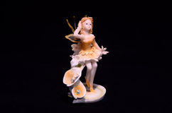 Clay Handmade Statuette of a Fairy Royalty Free Stock Photography