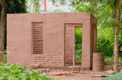 Clay House royaltyfri fotografi