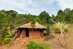 Clay house. The clay house in Lahu (North Tayland Stock Images