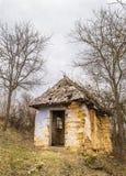 Clay House rovinato anziano Fotografie Stock