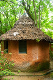 Clay hut. A Clay hut in Madagascar Royalty Free Stock Image