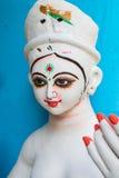 Clay idol of Goddess Durga, Kumartuli, Kolkata, West Bengal, India Stock Photography