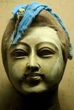 Clay idol of Hindu god Royalty Free Stock Images