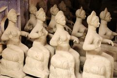 Clay idols for sale Stock Images