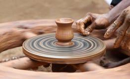Clay Jar Fotografía de archivo