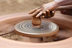Clay Jar Fotografie Stock Libere da Diritti