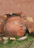 Clay Jar Stockbild