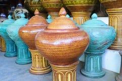 Clay Jar Fotografia Stock Libera da Diritti