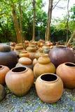 Clay Jar Photographie stock