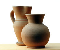 Clay jars Royalty Free Stock Images
