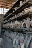 Clay Jars Form Pompeii Royalty Free Stock Photography