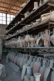 Clay Jars Form Pompeii