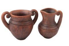 Clay jug Stock Image