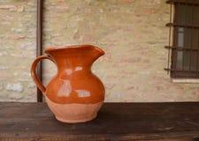 Clay jug Royalty Free Stock Photography