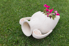 Clay jug Stock Photo